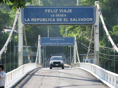 El Salvador y Guatemala se reunieron para discutir integración de puestos fronterizos