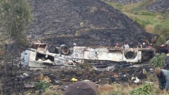 34 muertos deja accidente de tránsito en Madagascar