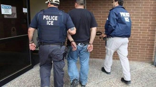 Migración estadounidense captura a 650 inmigrantes ilegales