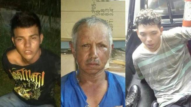 Capturan a cinco sujetos por cometer varios delitos en diferentes puntos del país