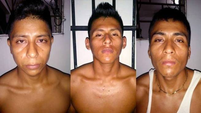 Capturan a 3 sujetos que se dedicaban a extorsionar en Sonsonate