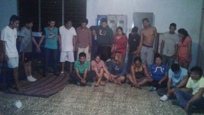 Capturan a 30 pandilleros por organizaciones terroristas y extorsión en La Paz