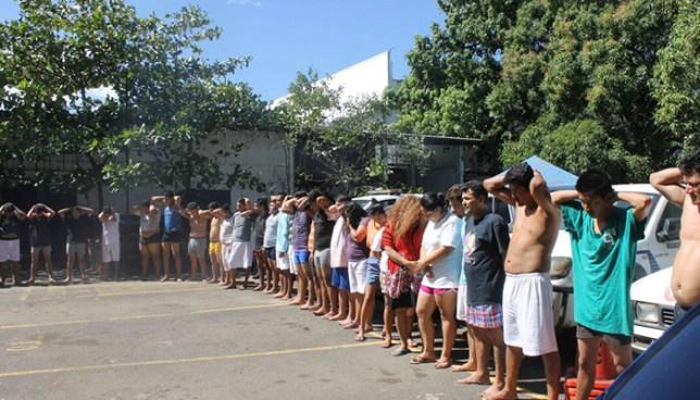 Operativo en Sonsonate deja la captura de 39 miembros de pandillas
