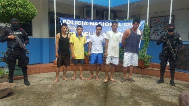 Cinco sicarios de pandillas son capturados en Santa Ana