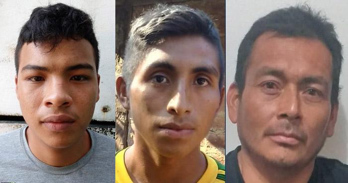 Capturados por extorsión, homicidio y agresión contra mujeres en diferentes puntos del país