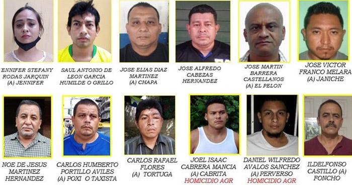 Capturan a 68 pandilleros que operaban en el centro de San Salvador