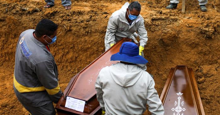 Brasil supera las 85 mil muertes por COVID-19
