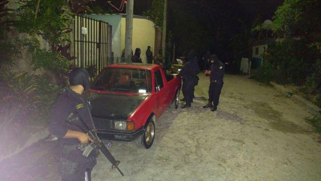 Varias capturas esta madrugada en operativo en Santo Tomás