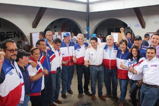 ARENA da a conocer a sus candidatos a diputados para elecciones 2018