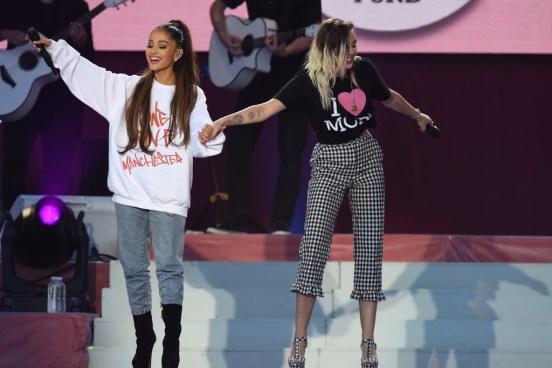Ariana Grande llevo a cabo su concierto de beneficencia