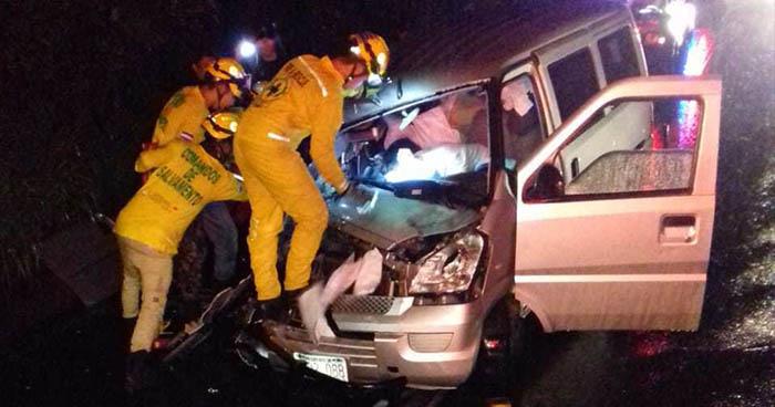 19 personas perdieron la vida este fin de semana a causa de accidentes de tránsito
