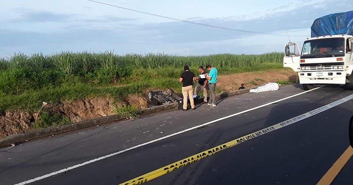 Sujeto asesina a hombre que intentó ayudarlo tras sufrir aparatoso accidente en San Pedro Masahuat