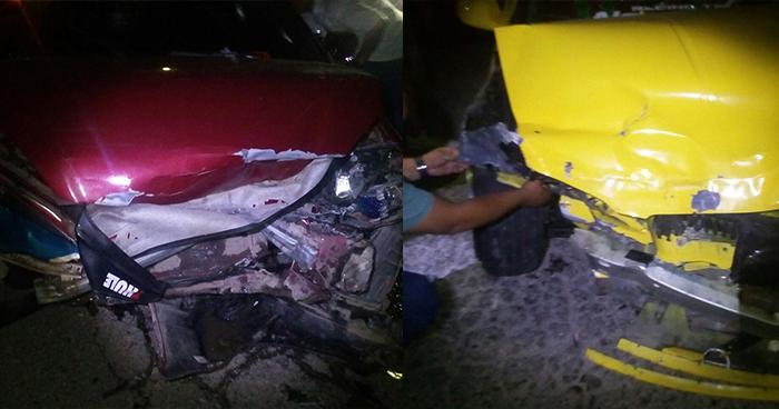 Chalatenango: Menor en estado de ebriedad causa accidente y deja varias personas lesionadas