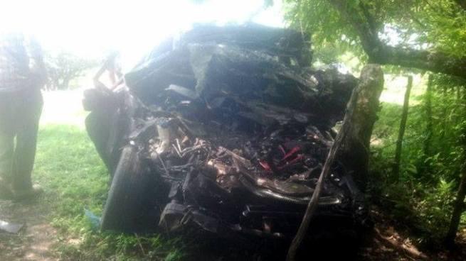 Un muerto tras colisión entre un vehículo particular y camión de basura en Sirama, La Unión