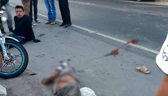 Hombre muere tras ser embestido por un motociclista en Jiquilisco, Usulután