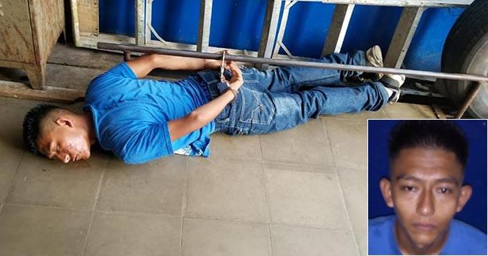 Capturan a pandillero que intentó privar de libertad a un soldado en Ahuachapán