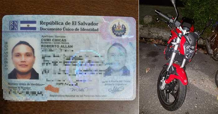 PNC captura a motociclista que se conducía con más de 600 grados de alcohol en la sangre
