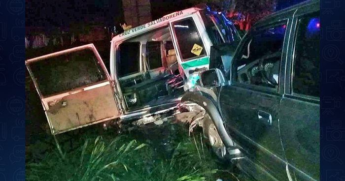 Cruz Verde solicita nuevo vehículo para remplazar ambulancia que fue chocada por un conductor ebrio