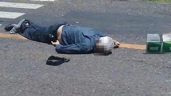 Anciano muere al ser embestido por un camión en San Juan Opico