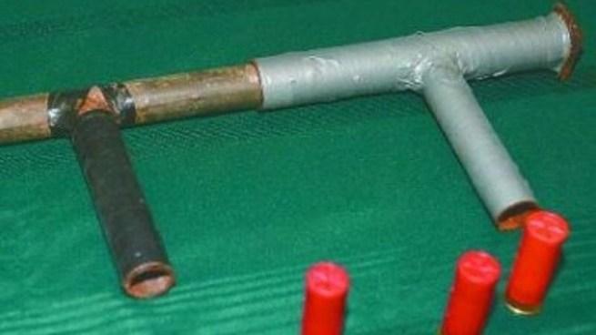 Capturan a pandilleros que amenazaban con arma artesanal en Santa Ana