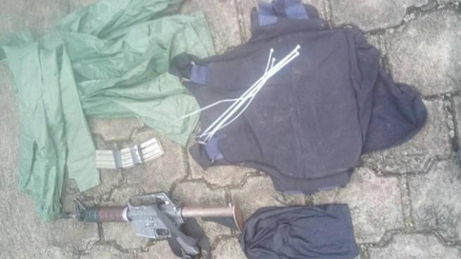 Incautan arma de fuego y chaleco antibalas a pandilleros en La Libertad