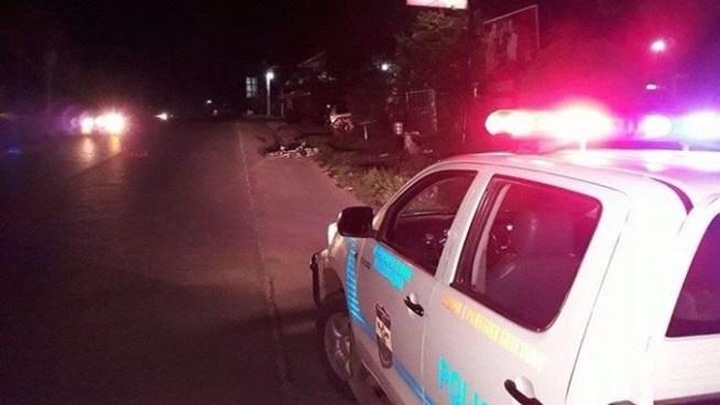 Delincuentes asesinan a balazos a hombre que se conducía a bordo de una bicicleta