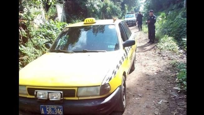 Pandilleros asesinan a balazos a un taxista en Sonzacate