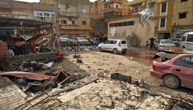 Ataque con coches bombas deja más de una treintena de muertos en Libia