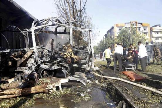 Ataque suicida deja al menos 31 muertos y 40 heridos en Kabul