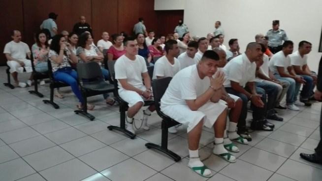 Suspenden audiencia contra pandilleros de Operación Jaque por mal estado de salud de jueza