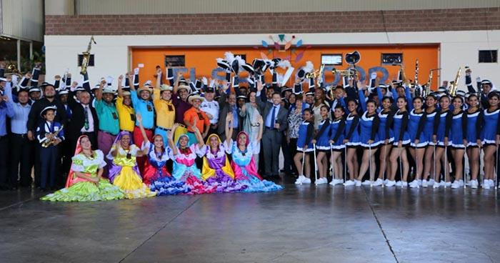 Banda El Salvador grande como su gente participará por tercera vez en el desfile de Las Rosas en EE.UU