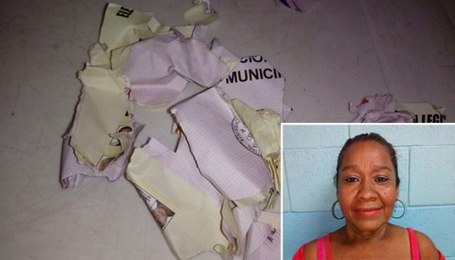 Condenan a prisión a mujer que rompió su papeleta luego de votar