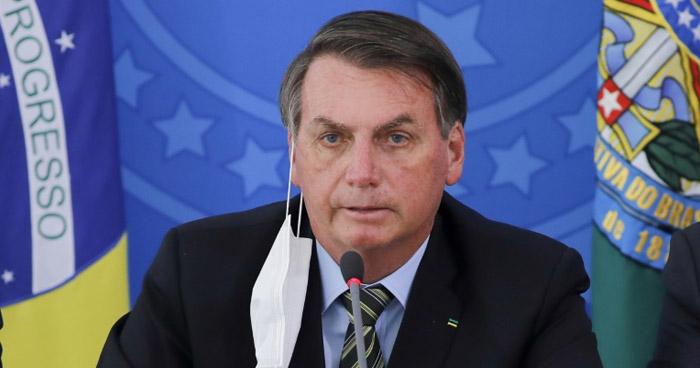Presidente de Brasil, Jair Bolsonaro, da positivo a COVID-19 en un nuevo test