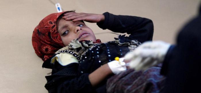 El cólera se extiende en los niños de Yemen