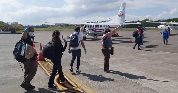 Retornan al país salvadoreños varados en Costa Rica