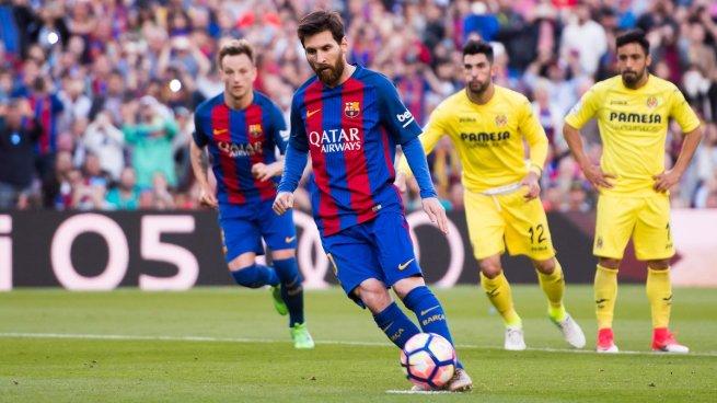 Barcelona golea al Villareal y sigue líder en la Liga