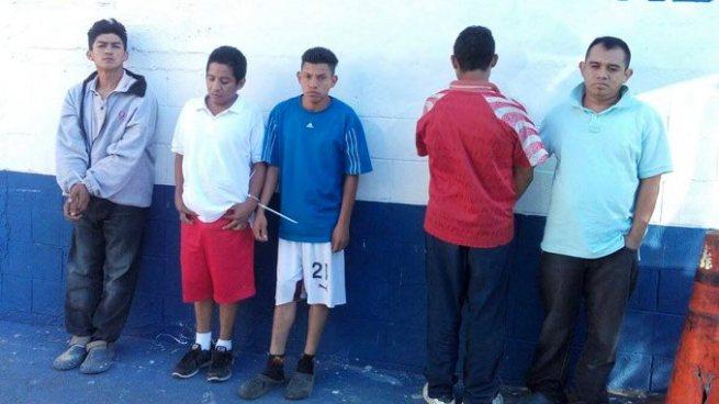 Capturan a jefes de clicas que operan en el departamento de Cuscatlán