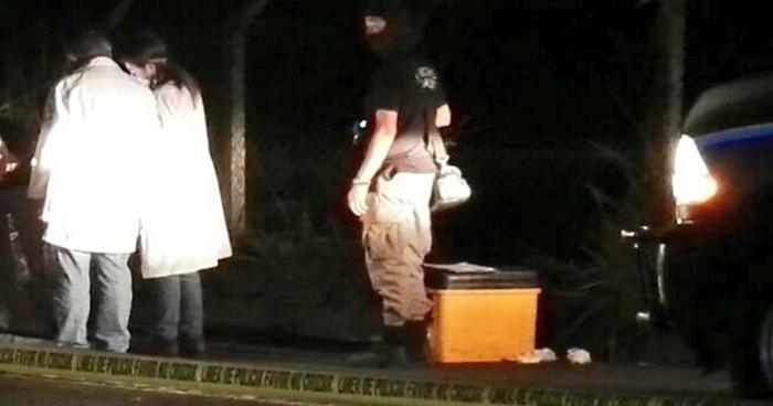 Hallan envuelto en sábanas el cadáver de un pandillero sobre la carretera de Oro en Soyapango
