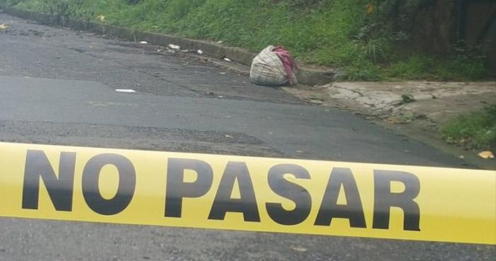Encuentran cadáver envuelto en sábanas en Ciudad Delgado