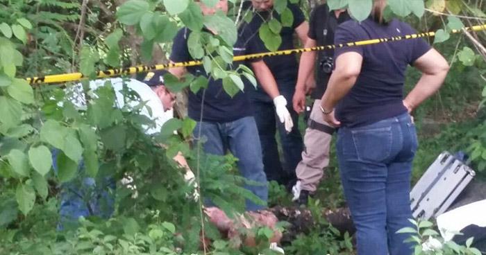 Cadáver de pandillero fue encontrado semienterrado en San Sebastián, San Vicente