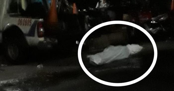 Hallan el cadáver de una persona que era arrastrado por la corriente de un río en Sonsonate