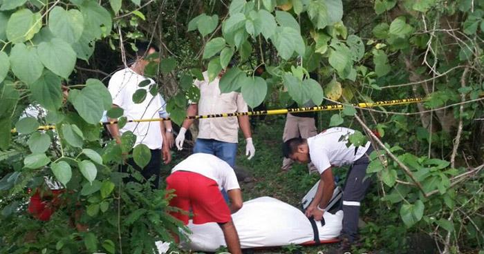 Matan a pandillero y abandonan su cadáver en colonia San Cristóbal de San Vicente