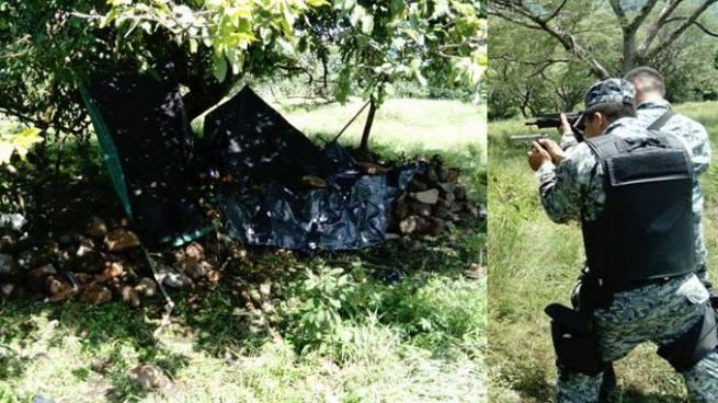 Policía desbarata campamento de pandilleros en Cabañas