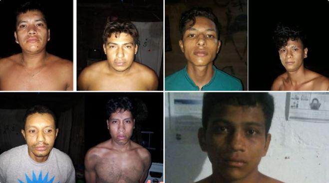 Capturan por homicidio a 8 pandilleros que operaban en Sonsonate