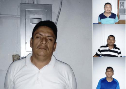 Supuesto taxista es capturado junto a tres sujetos en San Salvador