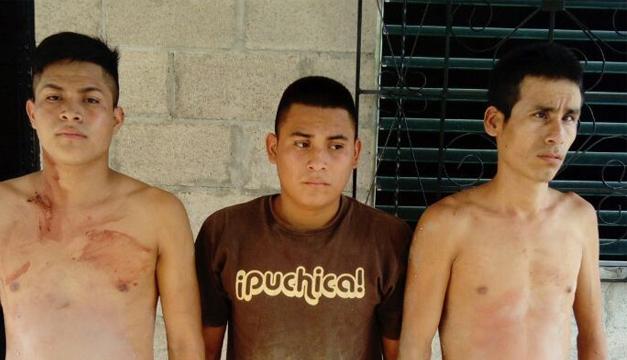Capturan a tres hermanos que eran buscados por pandilleros