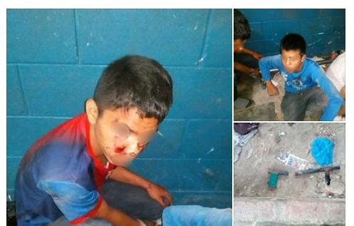 Niños de 15 años son capturados con armas de fuego en Cuscatlán