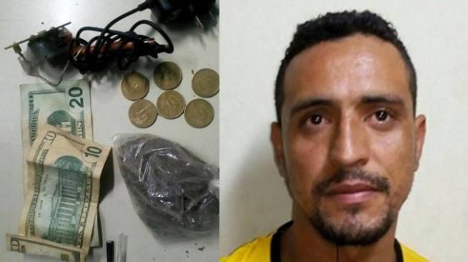 Detienen con droga y una maquina de tatuajes a un sujeto en San Vicente