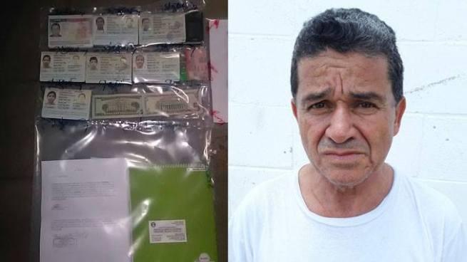Capturan en Santa Ana a sujeto que cobraba $4 mil por visas estadounidenses