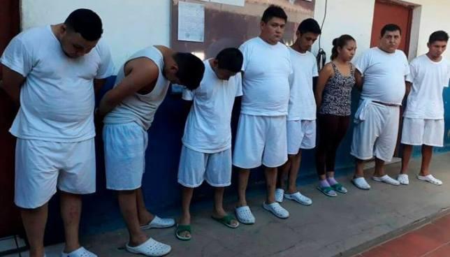 Policía captura en Ciudad Delgado a varios sujetos relacionados a homicidios